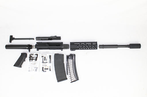 "AR9 - ZAVIAR 'STINGER SERIES' 7.5"" 9MM ENDO-KIT 7"" LIGHTWEIGHT HANDGUARD"