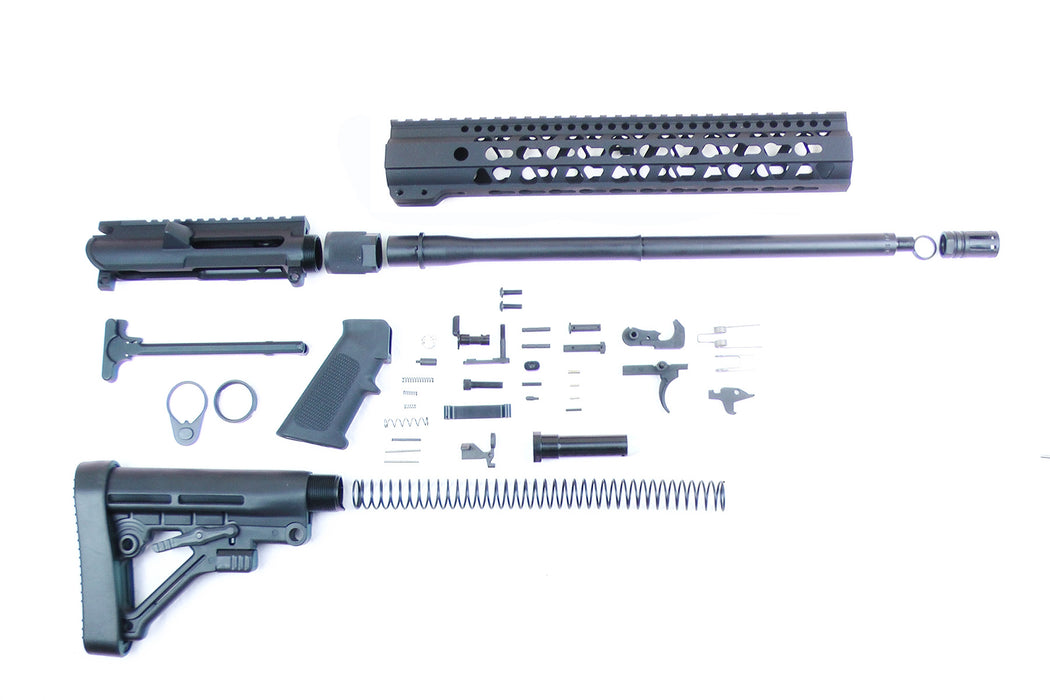 "SA9 'Stinger' Series 9mm 16"" 1:10 Carbine Builder Kit with 12"" KeyMod GEN2 Handguard & Predator Stock Kit (Glock & Colt Compatible)"