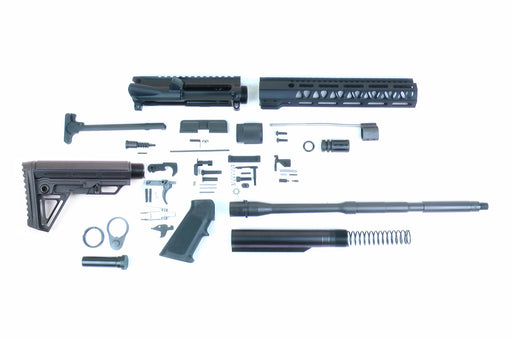 "SA16 'Operator Alpha' Series 16"" 1:7 Parkerized Carbine Builder Kit with Alpha Stock Kit 10"" M-LOK Handguard"