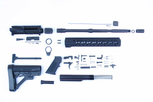 "6.5 Grendel SA16 'Grendel' Series 16"" 1:8 Nitride Carbine Builder Kit with Predator Stock Kit 12"" KeyMod Handguard"