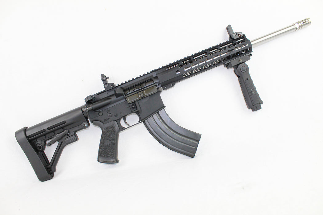 "ZAVIAR 'SPECIALTY SERIES' COMPLETE RIFLE 16"" CARBINE 7.62x39 1/10 STAINLESS STEEL AR15"