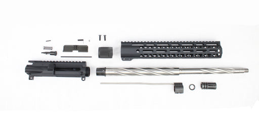 "'SPECIALTY SERIES' .223 Wylde 18"" 1:8 Stainless Steel Spiral Fluted Mid-Length Upper Kit"