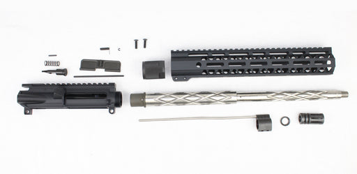"'SPECIALTY SERIES' .223 Wylde 16"" 1:9 Stainless Steel Diamond Fluted Carbine Upper Kit"