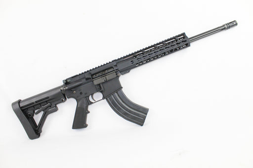 "ZAVIAR 'SPECIALTY SERIES' COMPLETE RIFLE 16"" CARBINE 7.62x39 1/10 NITRIDE STRAIGHT FLUTED AR15"