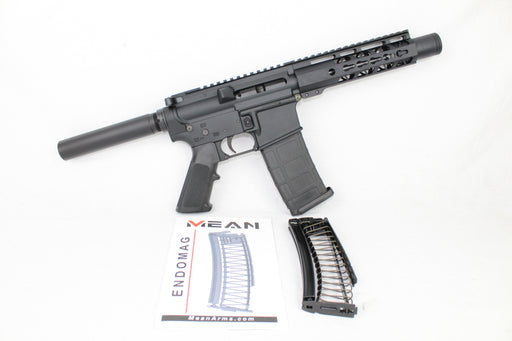 "AR9 CONVERTED ZAVIAR STINGER SERIES COMPLETE PISTOL 5.5"" 9mm 1/10 NITRIDE 7"" RAIL (PAIRED WITH 5.56 LOWER + 9MM CONVERSION MAGAZINE)"