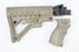 Scorpion Armaments AK 6 Position Collapsible Stock Kit & Pistol Grip Flat Dark Earth