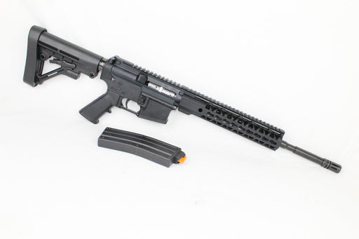 "AR22 CONVERTED ZAVIAR SPITFIRE SERIES COMPLETE CARBINE 16"" .22LR 1/16 NITRIDE 10"" RAIL (PAIRED WITH 5.56 LOWER + .22LR CONVERSION MAGAZINE)"