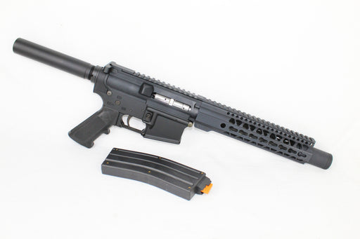 "AR22 CONVERTED ZAVIAR SPITFIRE SERIES COMPLETE PISTOL 9"" .22LR 1/16 NITRIDE 9"" RAIL (PAIRED WITH 5.56 LOWER + .22LR CONVERSION MAGAZINE)"