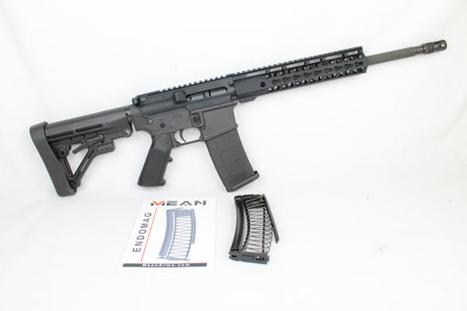 "AR9 CONVERTED ZAVIAR STINGER SERIES COMPLETE CARBINE 16"" 9mm 1/10 NITRIDE 10"" RAIL (PAIRED WITH 5.56 LOWER + 9MM CONVERSION MAGAZINE)"