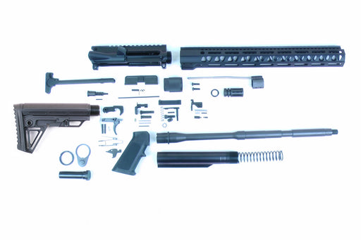 "SA16 'Operator Alpha' Series 16"" 1:7 Parkerized Carbine Builder Kit with Alpha Stock Kit 15"" M-LOK Handguard"
