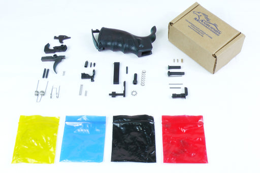 Anderson Manufacturing - Lower Parts Kit .223 / 5.56 Black Hammer and Trigger With Competition Grip