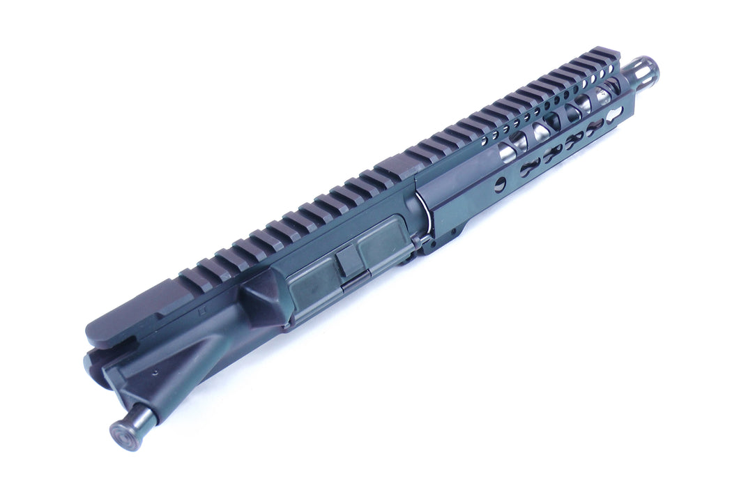 "8"" AR15 5.56 Stainless Steel Barrel Pistol Receiver with 7"" KeyMod GEN2 Free Float Rail"