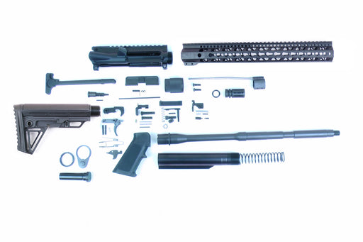 "SA16 'Operator Alpha' Series 16"" 1:7 Parkerized Carbine Builder Kit with Alpha Stock Kit 15"" KeyMod GEN2 Handguard"