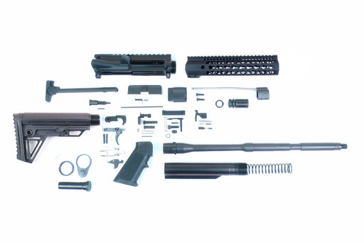 "SA16 'Operator Alpha' Series 16"" 1:8 Parkerized Carbine Builder Kit with Alpha Stock Kit 10"" KeyMod GEN2 Handguard"