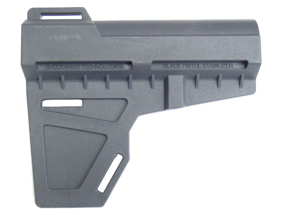 Scorpion Armaments AR-15 Complete Competition Lower Receiver with KAK Shockwave Blade Pistol Stabilizer