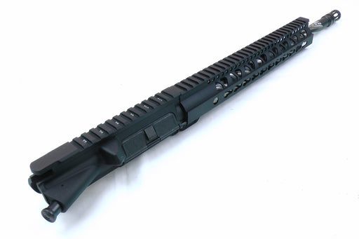 "18"" Bear Creek Bear Claw Twisted Fluted AR15 5.56 Upper Receiver with 12"" Free Float KeyMod Gen2 Handguard"