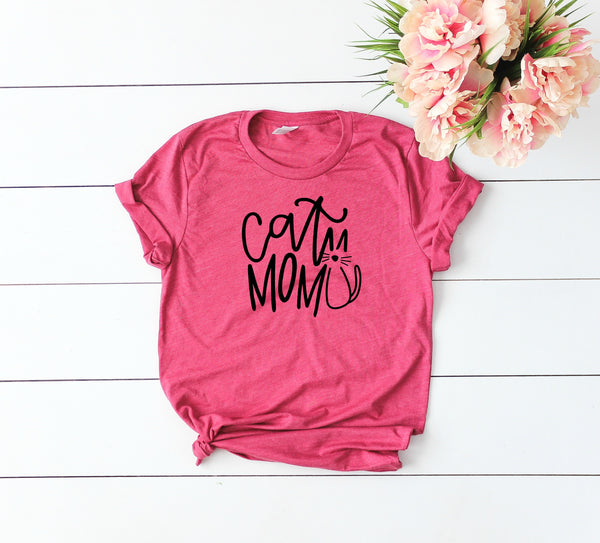 Cat Mom Tee, Cat Mom Shirt, Cat Mom Gift, Cat Mom AF, Cat Mom T Shirt, Cat Mom Tshirt, Feline Lover