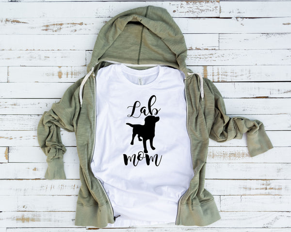 Lab MomTee, Lab, Lab Mom, Lab Shirt, Lab Mom Shirt, Labrador Mom, Labrador Retriever