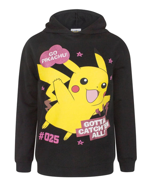 Pokemon Gotta Catch Em All Girl's Hoodie
