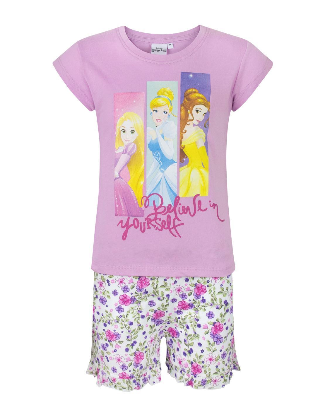 Disney Princess Believe Girl's Pyjamas