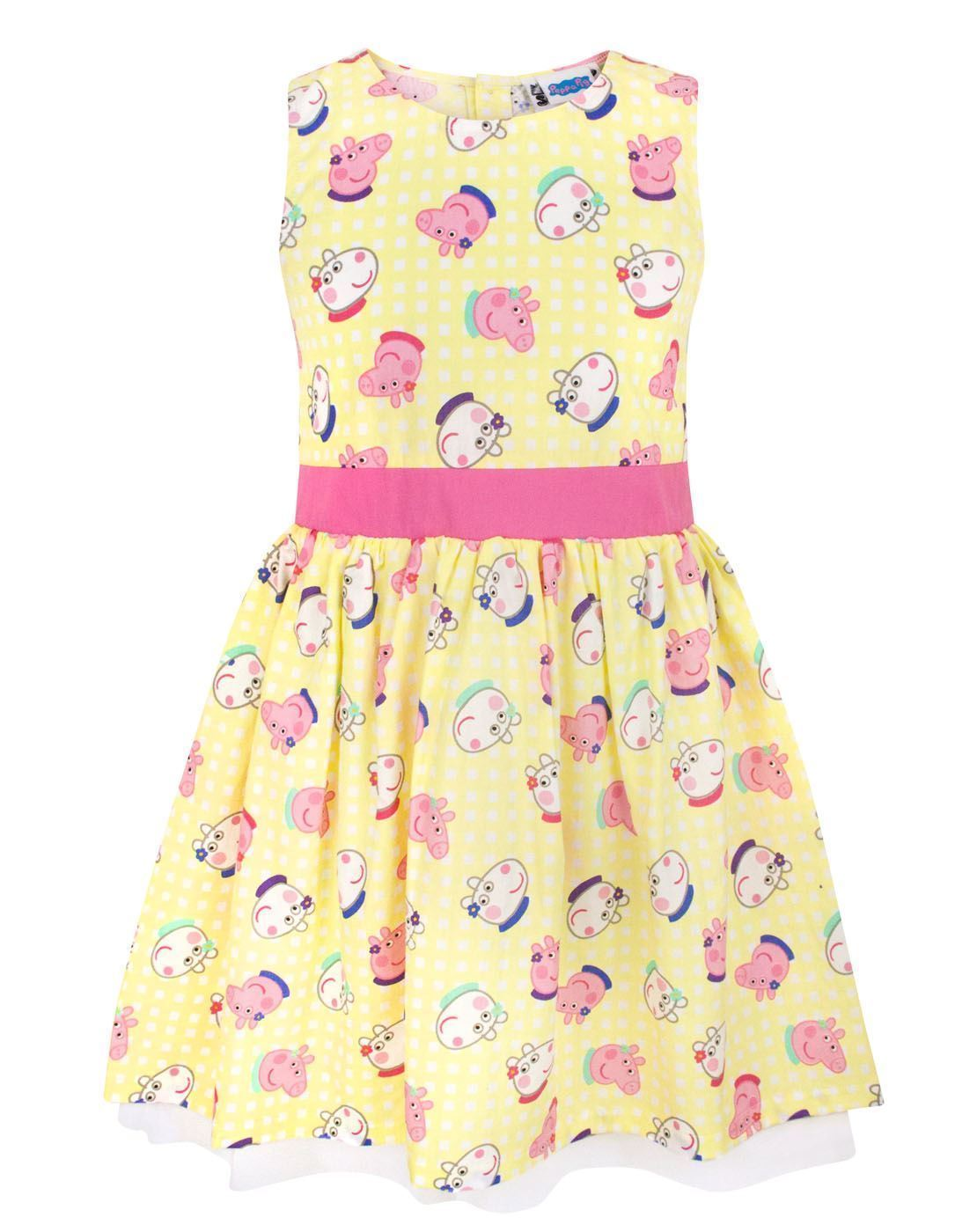 Peppa Pig Peppa & Suzy Girl's Party Dress