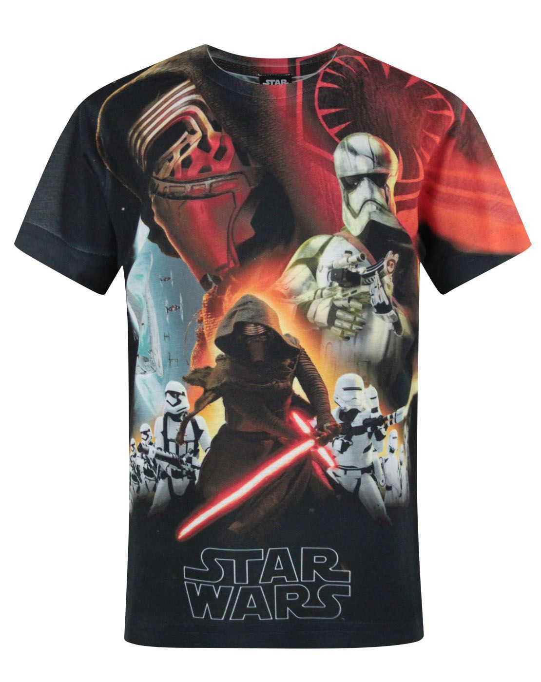 Star Wars Force Awakens First Order Sublimation Boy's T-Shirt
