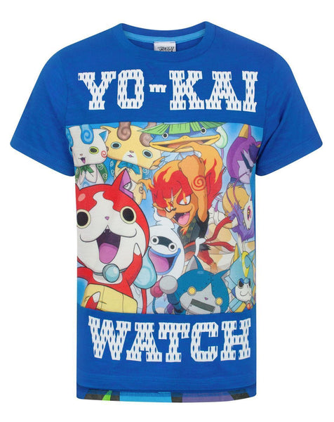 Yo-Kai Watch Panel Boy's T-Shirt