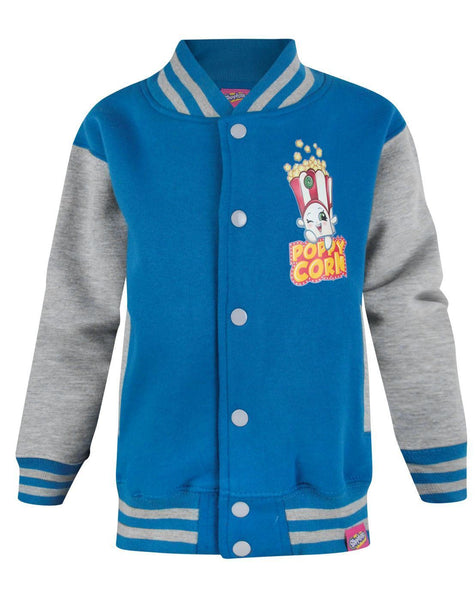 Shopkins Poppy Corn Girl's Varsity Jacket