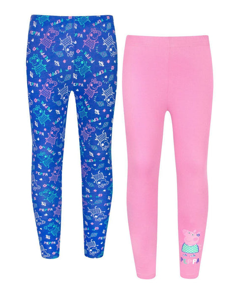 Peppa Pig Girls Leggings 2 Pack