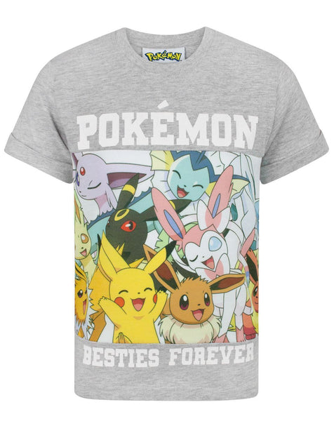 Pokemon Besties Forever Boy's T-Shirt