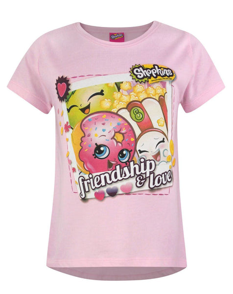 Shopkins Friendship & Love Girl's T-Shirt