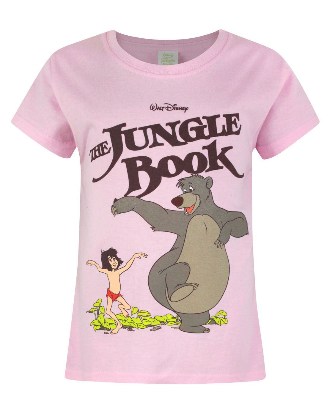 Jungle Book Mowgli & Baloo Girl's T-Shirt