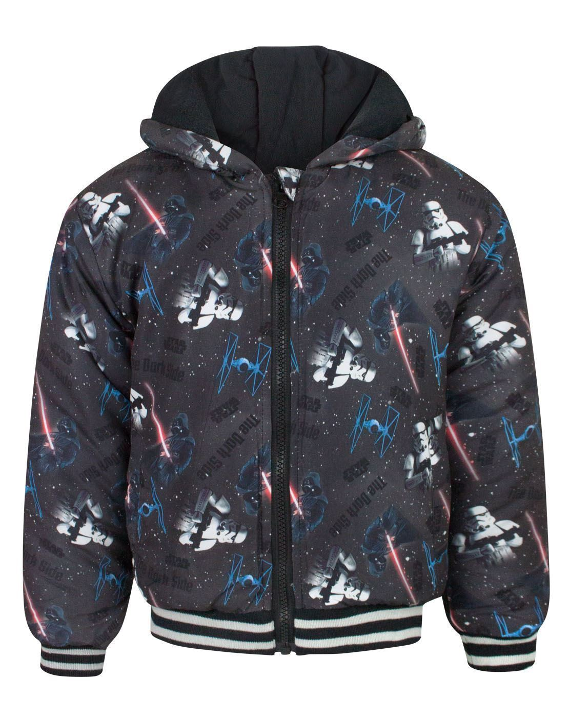 Star Wars Characters Boy's Hooded Coat