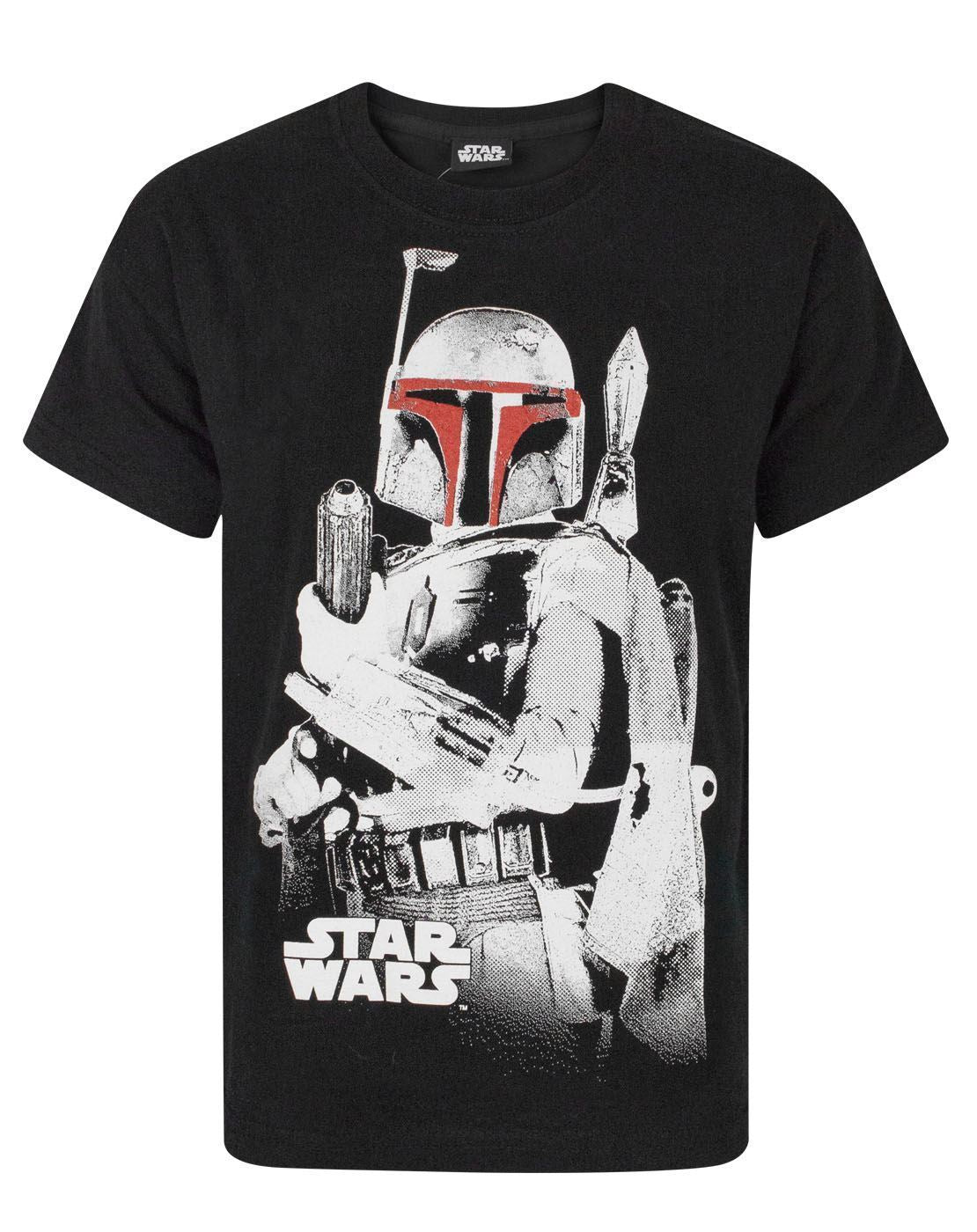 fbb909d8dd Star Wars Boba Fett Bounty Hunter Boy's T-Shirt | Noisy Sauce Live