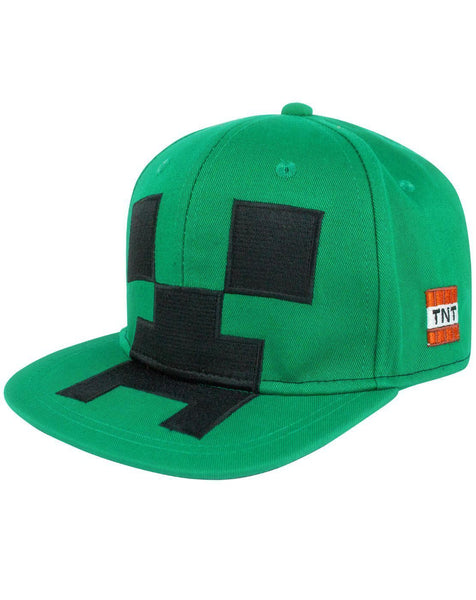 Minecraft Creeper Kid's Snapback Cap