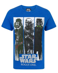 Star Wars Rogue One Character Panels Boy's T-Shirt