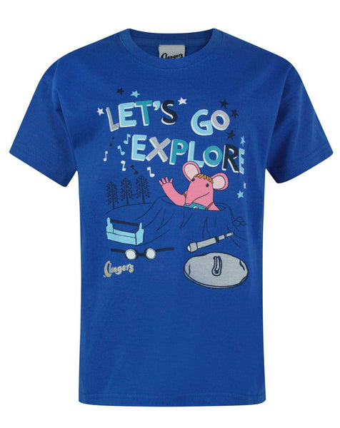 Clangers Explore Boy's T-Shirt