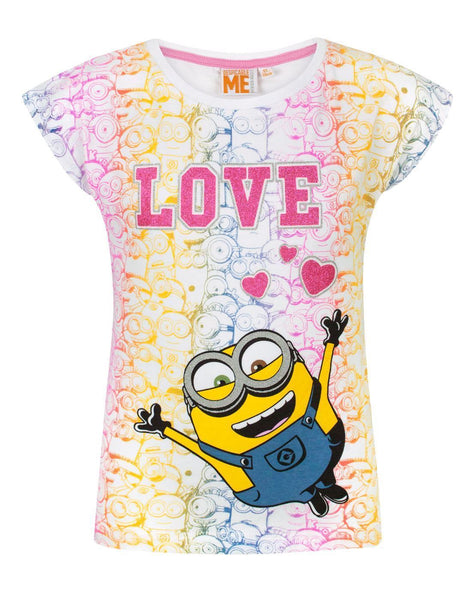 Despicable Me Love Girl's T-Shirt
