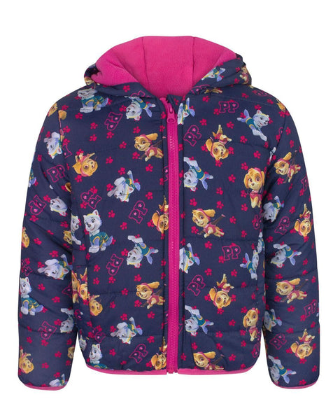 Paw Patrol Girl's Hooded Coat