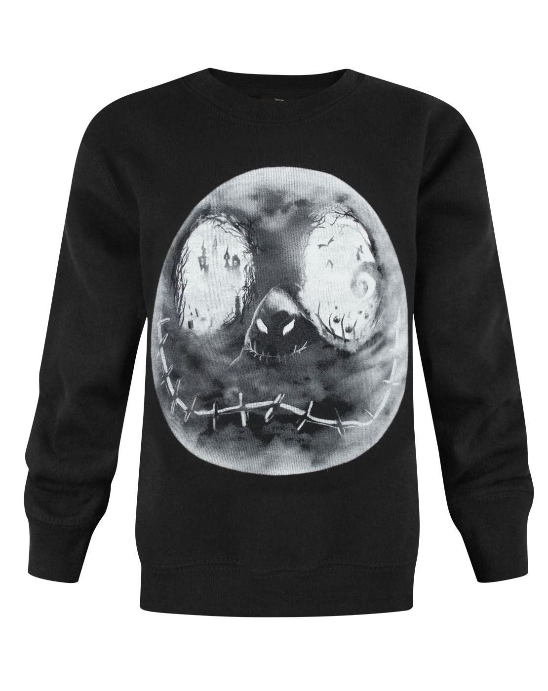 Nightmare Before Christmas Jack Moon Boy's Sweatshirt