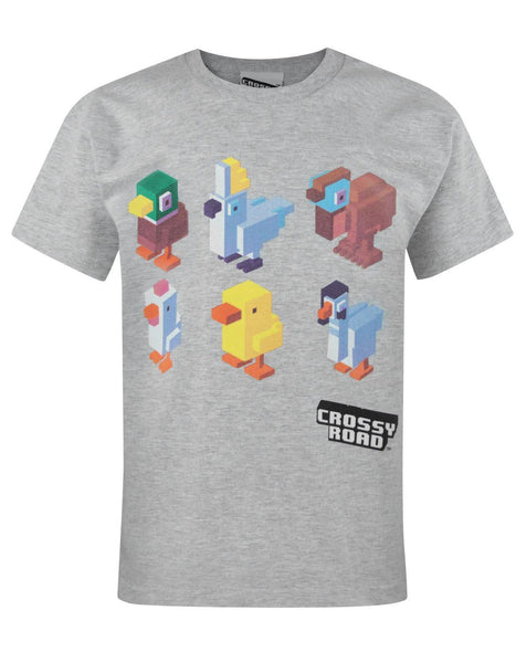Crossy Road Characters Boy's T-Shirt