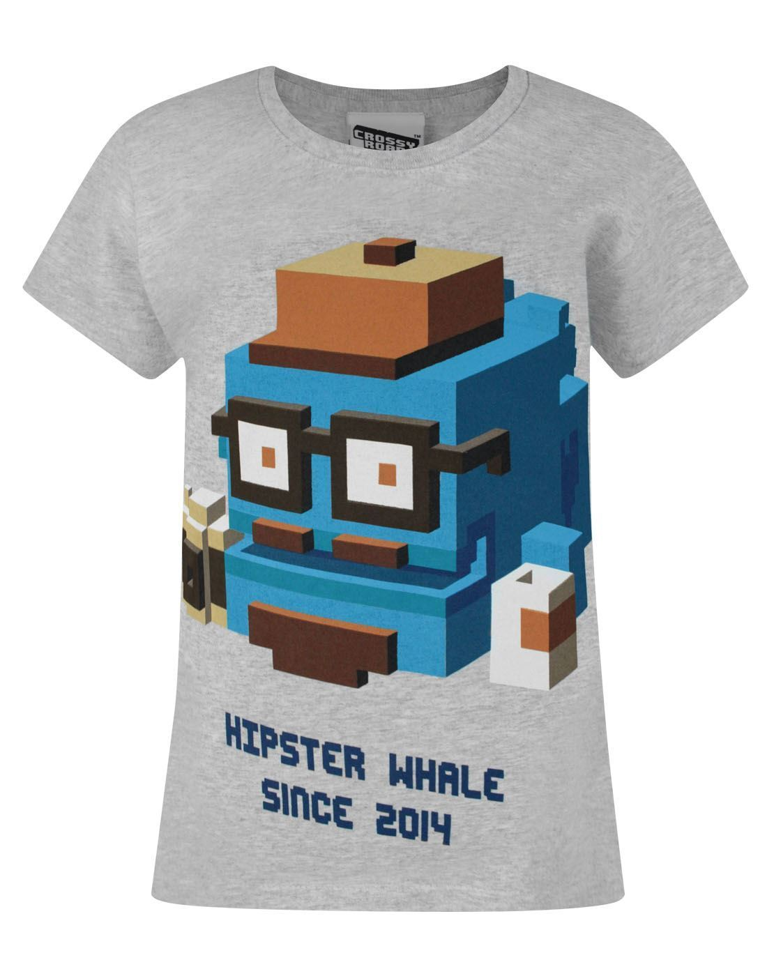 Crossy Road Hipster Whale Girl s T Shirt