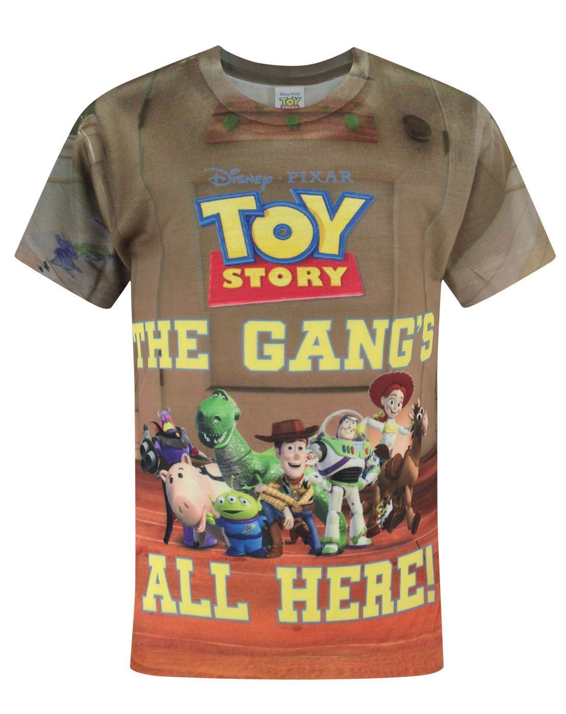 Toy Story Gang Sublimation Boy's T-Shirt