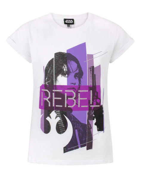 Star Wars Rogue One Rebel Girl's T-Shirt