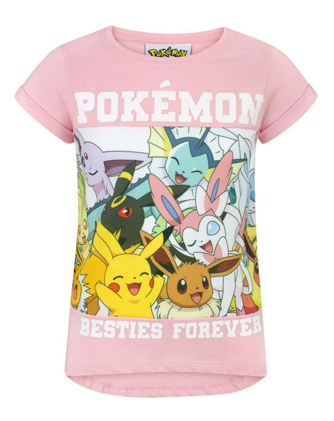 Pokemon Besties Forever Girl's T-Shirt