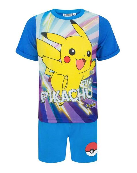 Pokemon Pikachu Boy's Short Pyjamas
