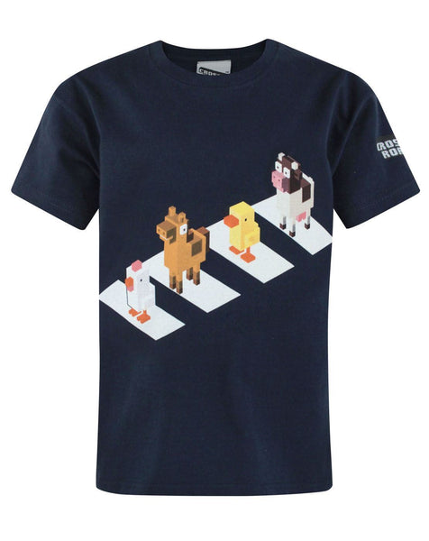 Crossy Road Crossing Boy's T-Shirt