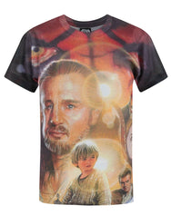 Star Wars Phantom Menace Sublimation Boy's T-Shirt