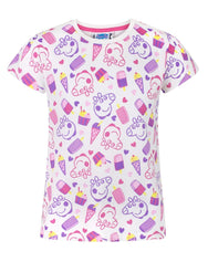Peppa Pig All Over Print Girl's T-Shirt