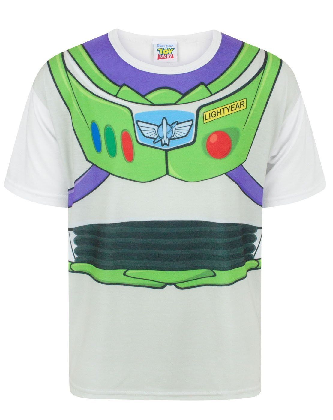 ff5f8f693 Disney Toy Story Buzz Lightyear Costume Boy's T-Shirt | Noisy Sauce Live